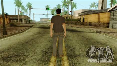 Young Alex Shepherd Skin without Flashlight für GTA San Andreas zweiten Screenshot