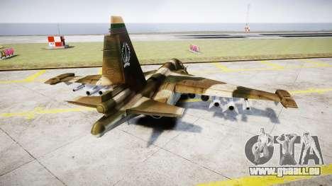 Le su-39 pour GTA 4 Vue arrière de la gauche