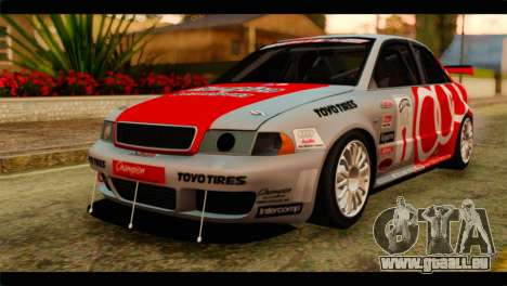 Audi S4 B5 2002 Champion Racing pour GTA San Andreas