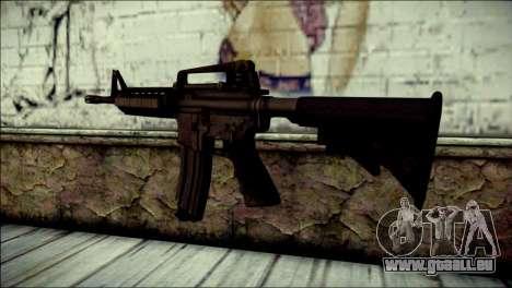 Rumble 6 Assault Rifle pour GTA San Andreas deuxième écran