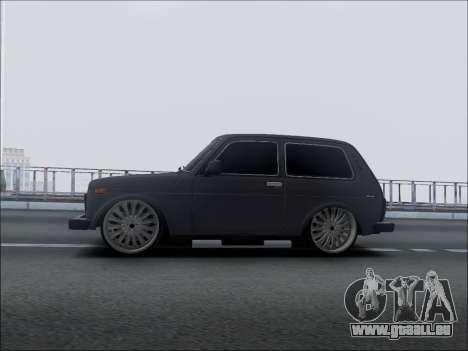 Lada Niva für GTA San Andreas linke Ansicht