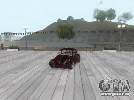 Volkswagen Super Beetle Grillos Racing v1 pour GTA San Andreas roue