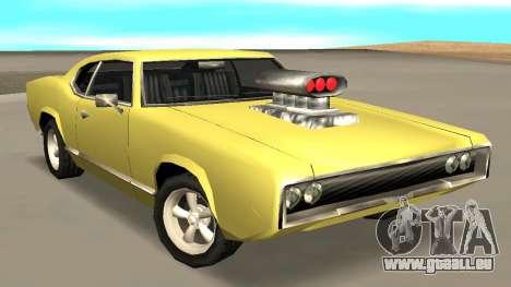 Sabre Charger für GTA San Andreas