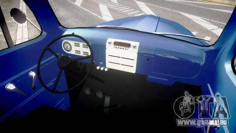 Ford F-1 1949 4WD für GTA 4 Rückansicht