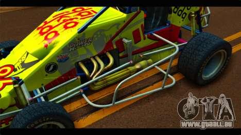 Larock Sprinter für GTA San Andreas Rückansicht