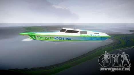 Motorboot für GTA 4 linke Ansicht