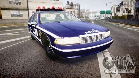 Chevrolet Caprice 1993 LCPD WoH Auxiliary [ELS] pour GTA 4