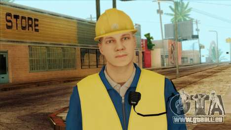 Takedown Redsabre NPC Shipworker v1 für GTA San Andreas dritten Screenshot