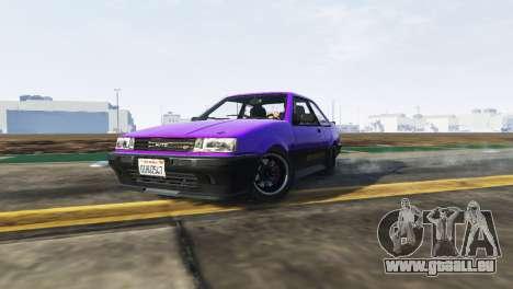 GTA 5 La dérive