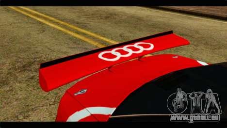 Audi S4 B5 2002 Champion Racing pour GTA San Andreas vue arrière
