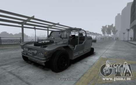 LYT-2021 pour GTA 4 Vue arrière