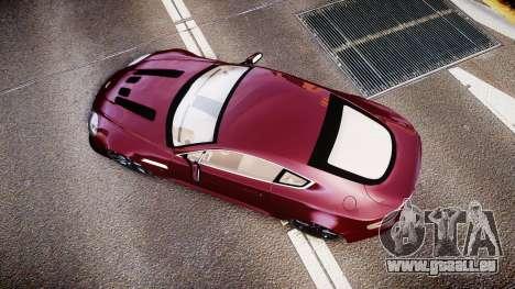 Aston Martin V12 Vantage 2010 für GTA 4 rechte Ansicht