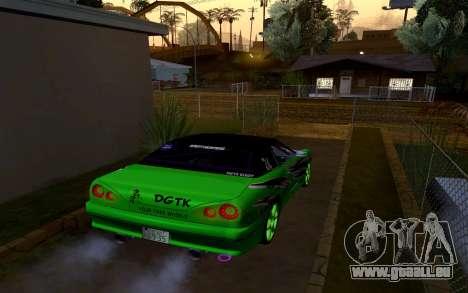 DGTK Elegy v1 für GTA San Andreas linke Ansicht