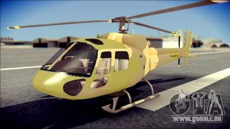 Esquilo 350 Fuerza Aerea Paraguaya für GTA San Andreas