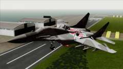 MIG-29A Polish Air Force Kosynierzy pour GTA San Andreas