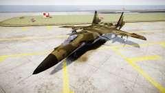 Su-47 Berkut forêt