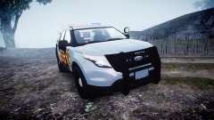 Ford Explorer Police Interceptor [ELS] marked pour GTA 4