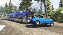 Lourds, les autobus et les camions