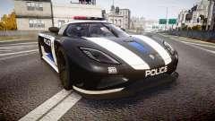 Koenigsegg Agera 2013 Police [EPM] v1.1 PJ3 für GTA 4