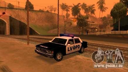 Beta LVPD Police pour GTA San Andreas