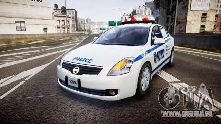 Nissan Altima Hybrid NYPD für GTA 4