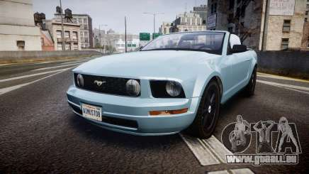 Ford Mustang Convertible Mk.V 2008 pour GTA 4