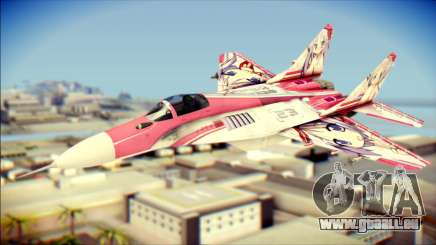 MIG-29 Shrine Maiden Hiragi pour GTA San Andreas
