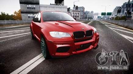 BMW X6 Tycoon EVO M 2011 Hamann pour GTA 4