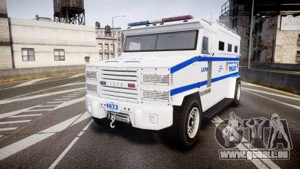 GTA V Brute Police Riot [ELS] skin 4 für GTA 4