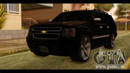Chevrolet Suburban 2010 FBI pour GTA San Andreas