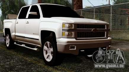 Chevrolet Silverado 2014 LTZ pour GTA San Andreas