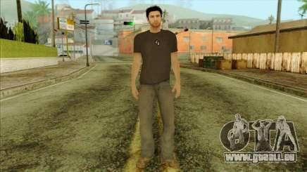 Young Alex Shepherd Skin without Flashlight für GTA San Andreas
