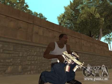 Chameleon Weapon Pack pour GTA San Andreas troisième écran