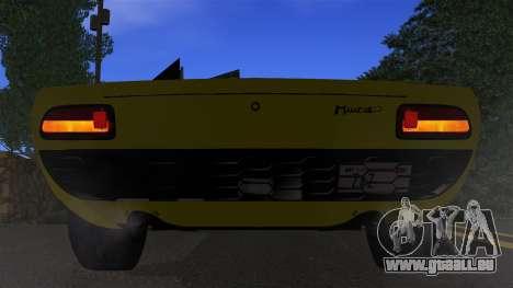 Lamborghini Miura P400 1967 für GTA San Andreas Seitenansicht