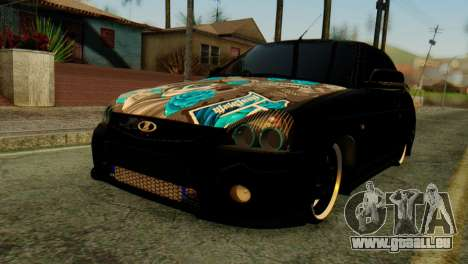 VAZ 2172 Coupé pour GTA San Andreas