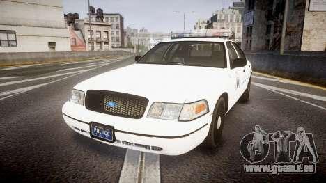 Ford Crown Victoria Metropolitan Police [ELS] pour GTA 4