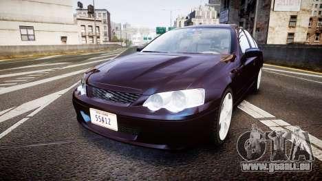 Ford Falcon XR8 2004 Unmarked Police [ELS] für GTA 4