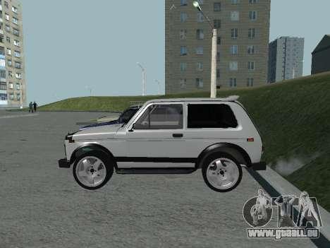 VAZ 2121 Niva für GTA San Andreas zurück linke Ansicht