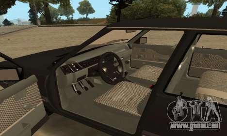 Renault 9 TSE 1992 für GTA San Andreas obere Ansicht