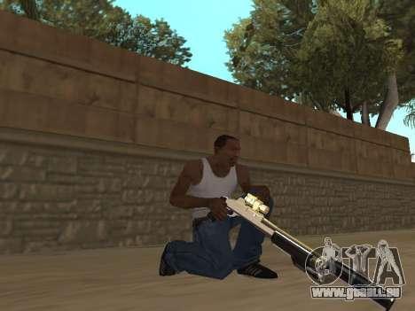 Chameleon Weapon Pack pour GTA San Andreas deuxième écran