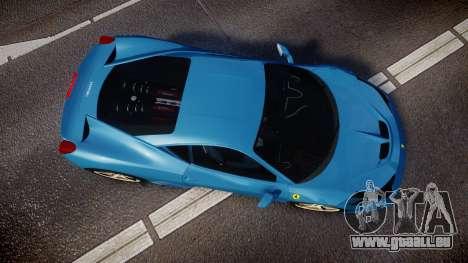 Ferrari 458 Speciale 2014 pour GTA 4 est un droit