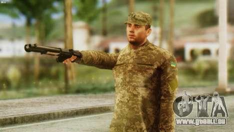 Ein Mitglied Der Streitkräfte Der Ukraine für GTA San Andreas