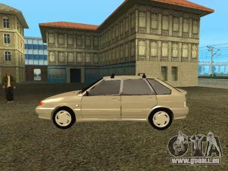 2114 pour GTA San Andreas sur la vue arrière gauche