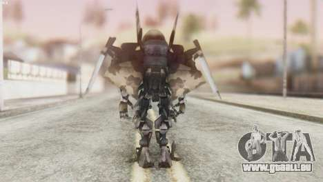 Breakaway Skin from Transformers pour GTA San Andreas troisième écran