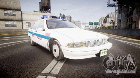Chevrolet Caprice Liberty Police v2 [ELS] pour GTA 4