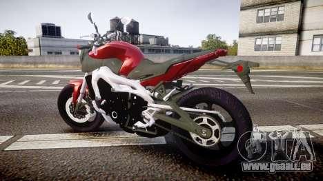 Yamaha MT-09 für GTA 4 linke Ansicht