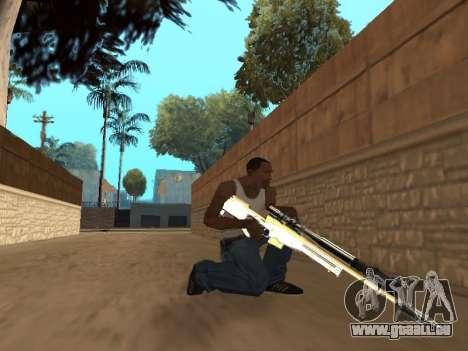 Chameleon Weapon Pack pour GTA San Andreas septième écran