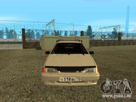 2114 pour GTA San Andreas laissé vue