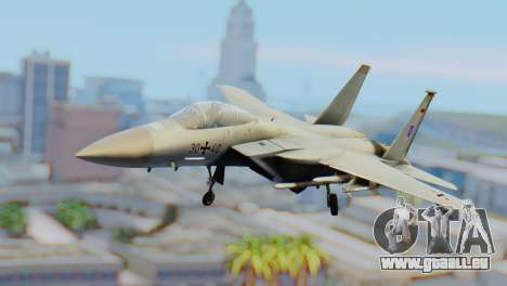 F-15C Eagle Luftwaffe JG 73 pour GTA San Andreas