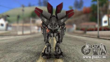 Air Raide Skin from Transformers pour GTA San Andreas deuxième écran